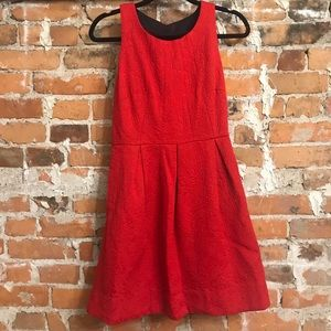 Red dress, size 8